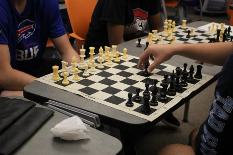 Chess Club is able to hold meetings during the first semester